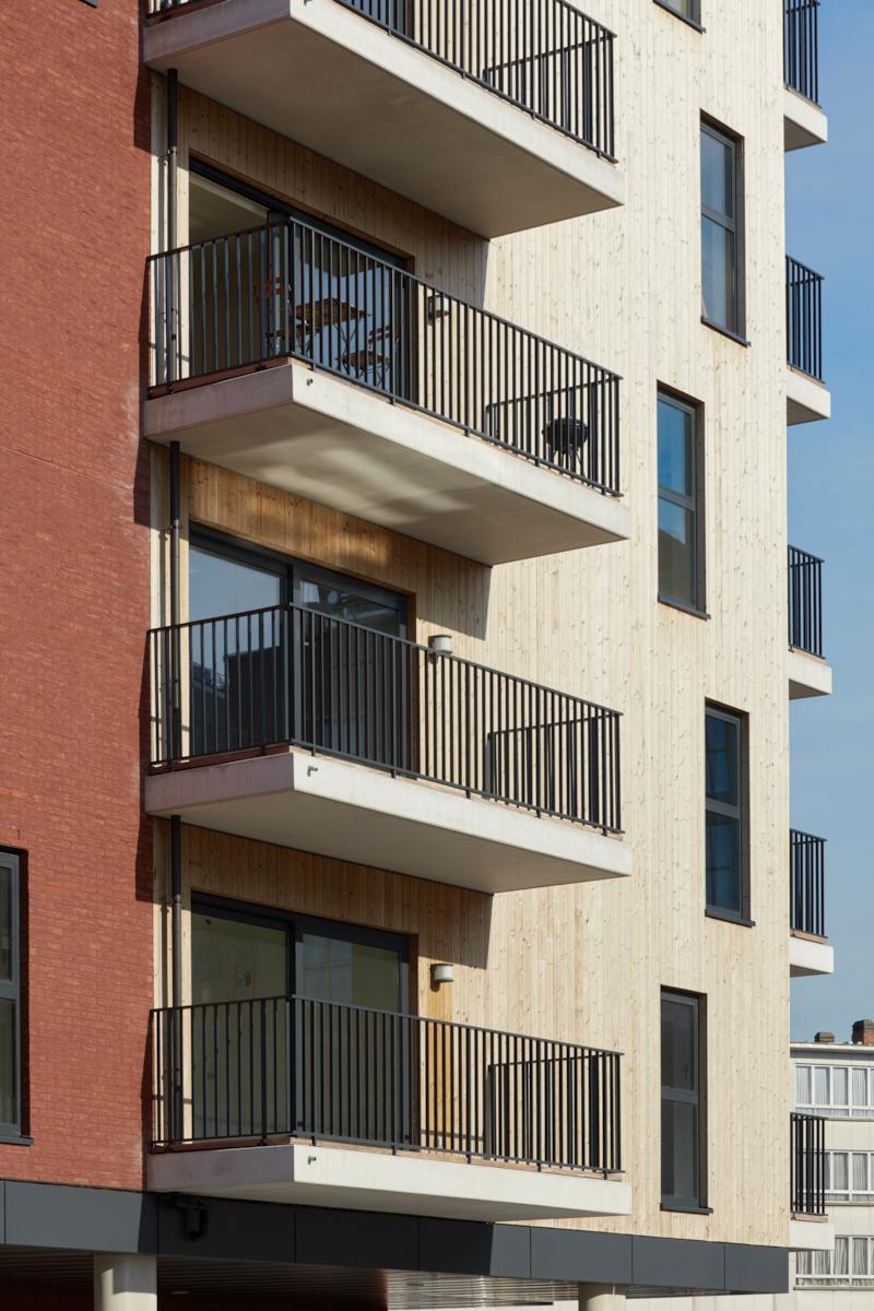 Residential accommodation Stephenson + underground car park (phase 2)