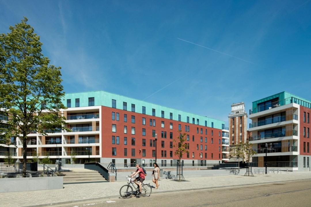 """Residentieel appartementencomplex """"Eiland & Feestzaal' Leuven van projectontwikkelaar Virix"""