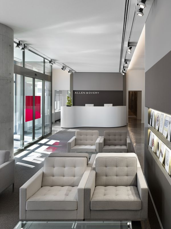 Allen & Overy - renovation, interior design