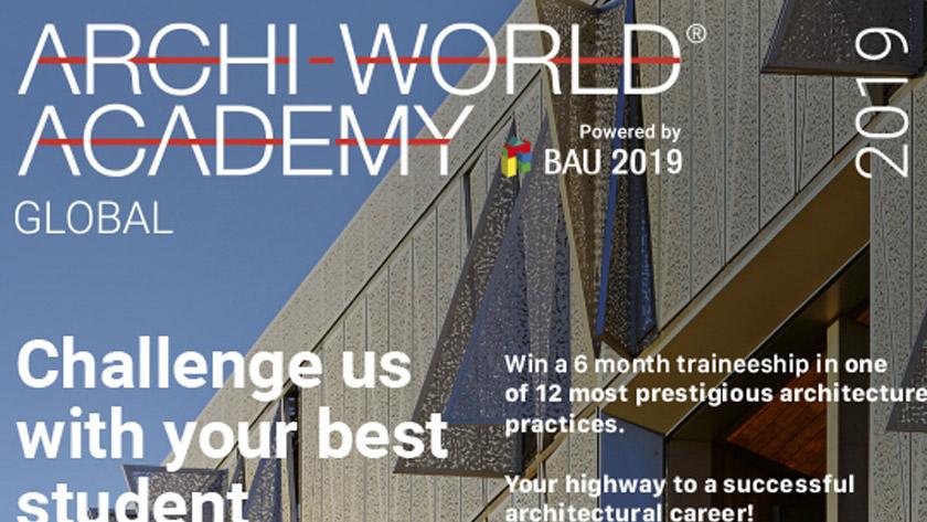 Philippe Van Goethem Jury member Archiworld Academy Award