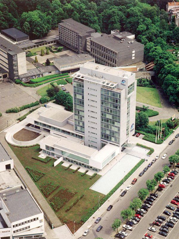 Nieuwbouw hoofdkantoor Pidpa, Antwerpen, kantoorgebouw SVR-ARCHITECTS