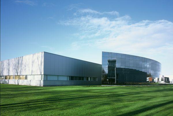 Nieuwbouw drukkerij St.-Luc, Nazareth, industriegebouw SVR-ARCHITECTS