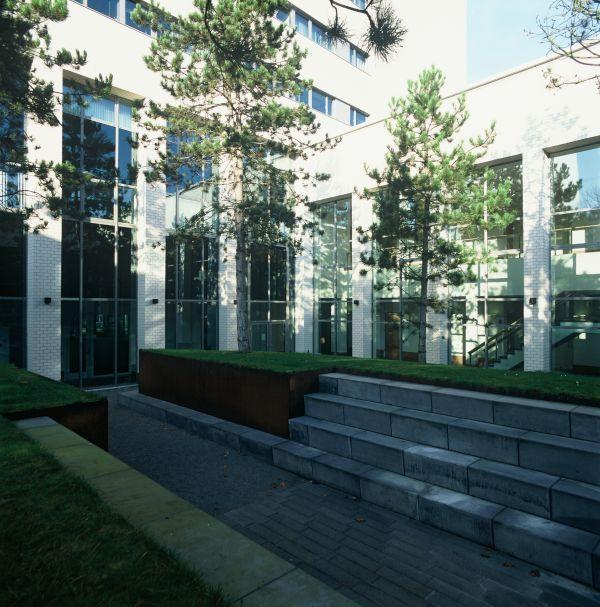Campusgebouw Universiteit Tilburg, Nederland