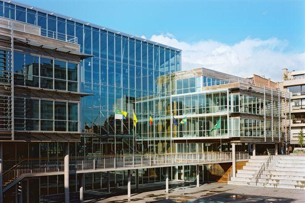Voorgevel nieuw gemeentehuis Koksijde