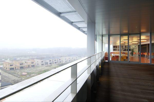 Nieuwbouw administratief centrum en politiekantoor de Zaat, kantoorgebouw SVR-ARCHITECTS