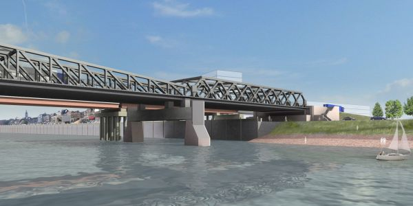 Bridge Scheldt, Temse