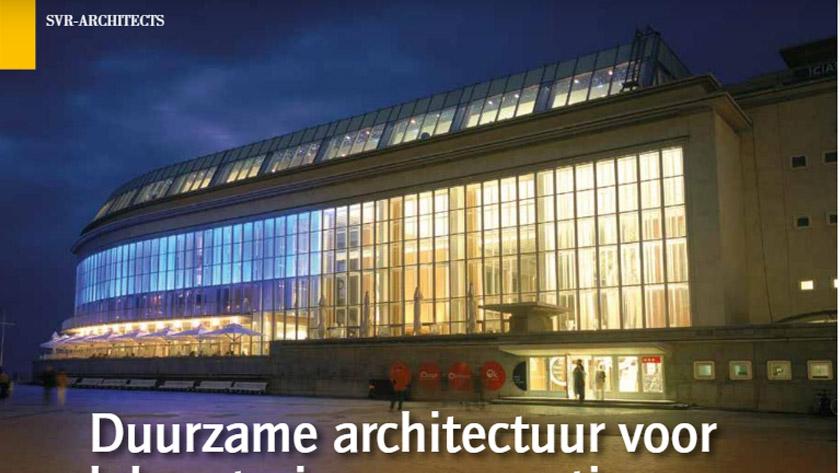 Duurzame architectuur voor laboratoria en renovaties. *