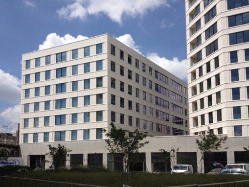 KIEVIT FASE IIB<br><span style='color:#31495a;font-size:12px;'>Kantoren, residentiële huisvesting, retail, ondergrondse parkeergarage.</span>