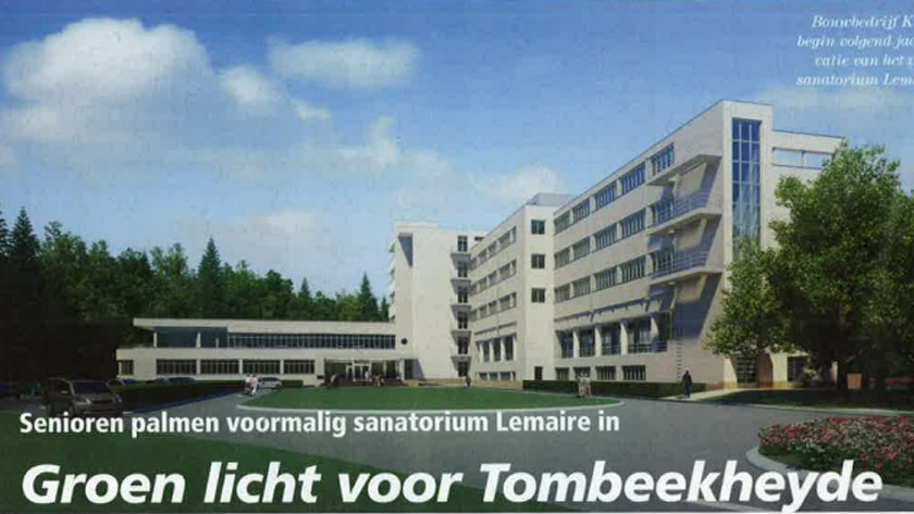 Groen licht voor TombeekheydeSenioren palmen voormalig sanatorium Lemaire in.