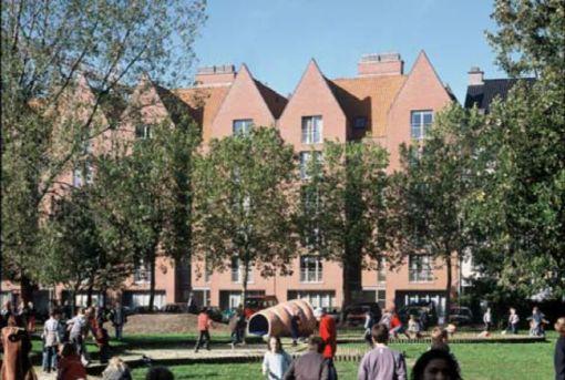 WOONHAVEN ANTWERPEN CVBA<br><span style='color:#31495a;font-size:12px;'>Social housing apartments Scheldestraat, Waalse Kaai, Timmerwerfstraat</span>