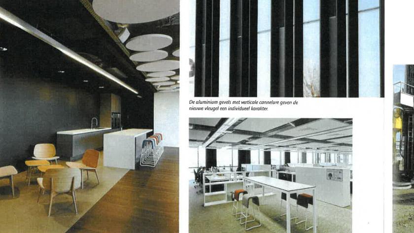 Hoogtechnologisch gebouw voor toptechnologisch bedrijf **
