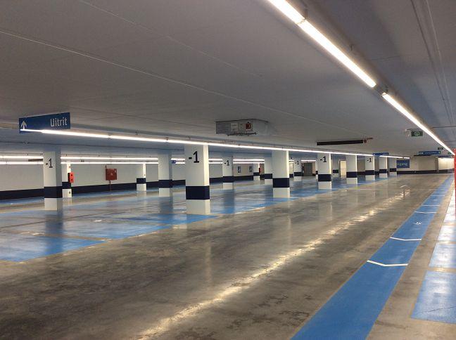 Ondergrondse parking Grote Markt Vilvoorde