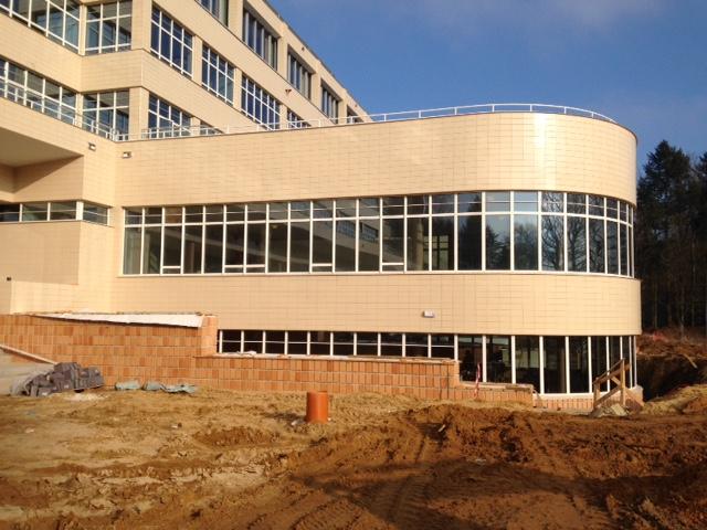 Gezondheidszorg, restauratieproject sanatorium Lemaire. Nu woonzorgcentrum Tombeekheyde