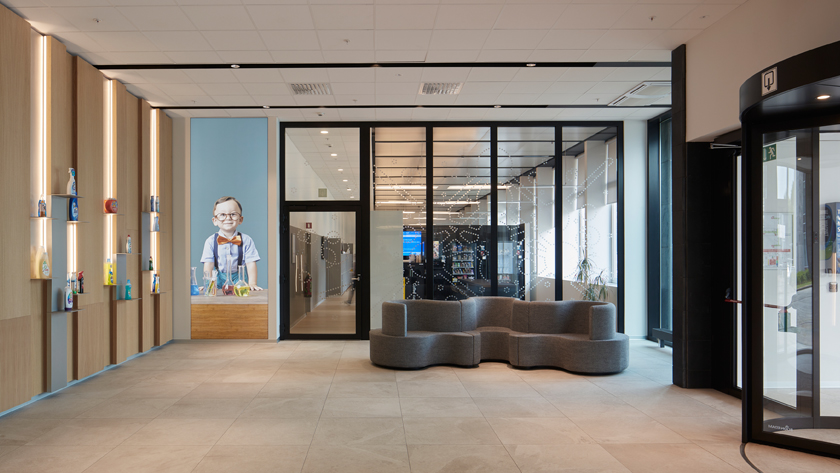 Bâtiment A&O Procter & Gamble | Bruxelles