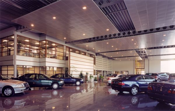 Mercedes-Benz Jacobs, Business premises, offices, interior