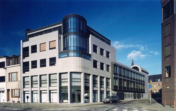 Nieuwbouw, hoofdzetel EGTA Pentagoon, Berchem, kantoorgebouw SVR-ARCHITECTS