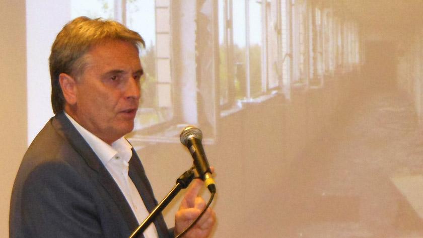 Philippe Van Goethem geeft lezing op Tombeekheyde in het kader van Open Monumentendag