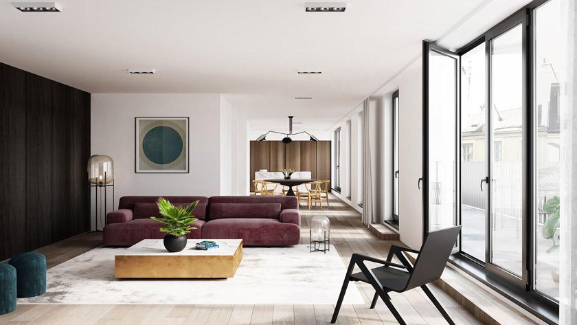 Nouveau projet de logement dans la Peter Benoitstraat d'Anvers