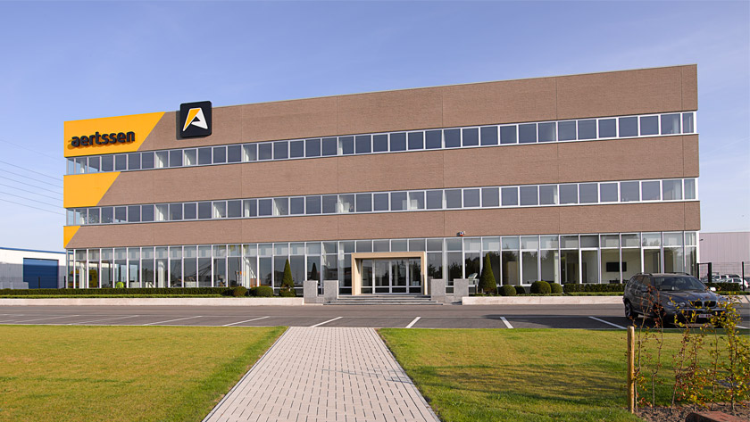 New headquarters for Aertssen
