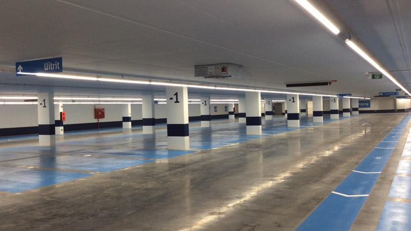 Parking souterrain Grand Place Vivorde est inauguré