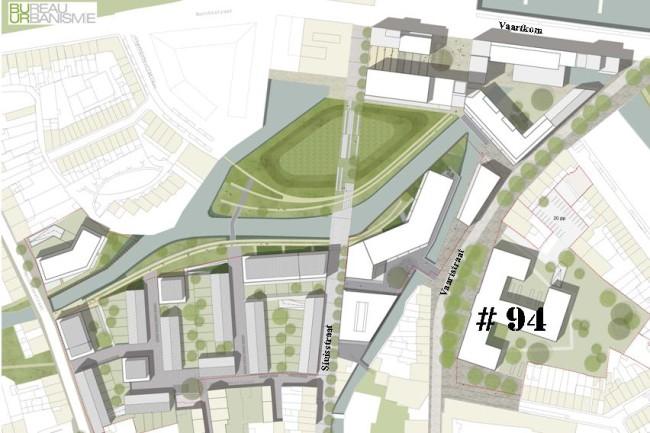 Plan nieuwbouw project DijleDelta