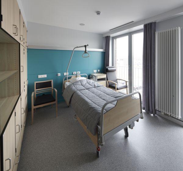 Eénpersoonskamer Revalidatie ziekenhuis Revarte, Edegem