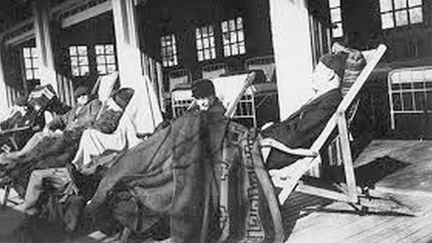 Sanatorium wordt rusthuis met behulp van uw spaargeld. *