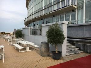 Renovatie sokkel, nieuwbouw trap Westgevel Casino Kursaal Oostende, project ontspanning SVR-ARCHITECTS
