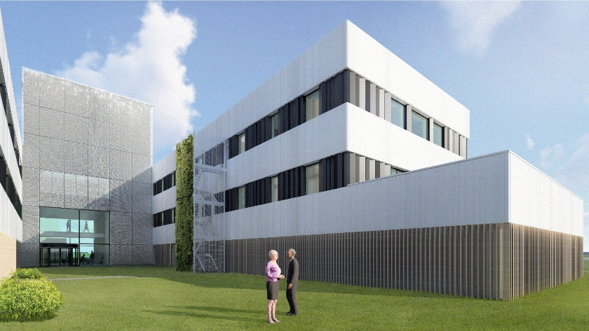 Research building and Donorcentre Red Cross UZA   Edegem