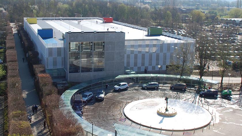 Car park buildings visitors & staff | Edegem