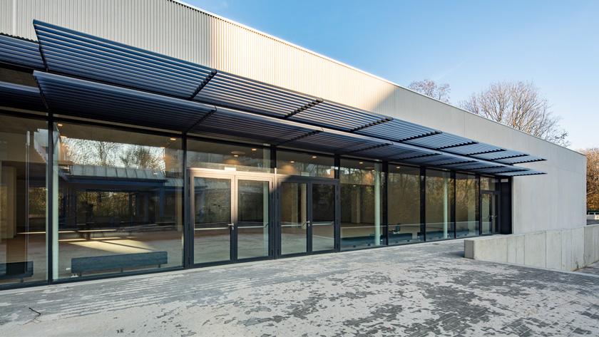 Agrandissement d\'Aula Major, rénovation et intérieur d\'Aula F. Nedée | Université d\'Anvers | Wilrijk