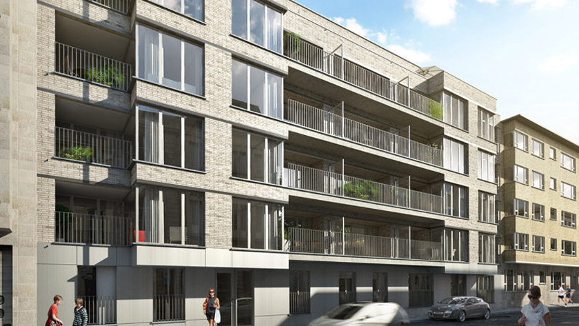 Vier grote nieuwbouwprojecten in Antwerpse Harmoniewijk *