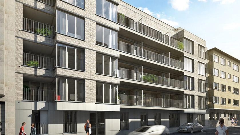 Vier grote nieuwbouwprojecten in Antwerpse Harmoniewijk