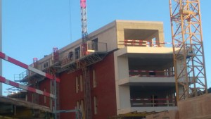 Nieuwbouw residentieel complex Eiland & Feestzaal, Leuven, project huisvesting SVR-ARCHITECTS