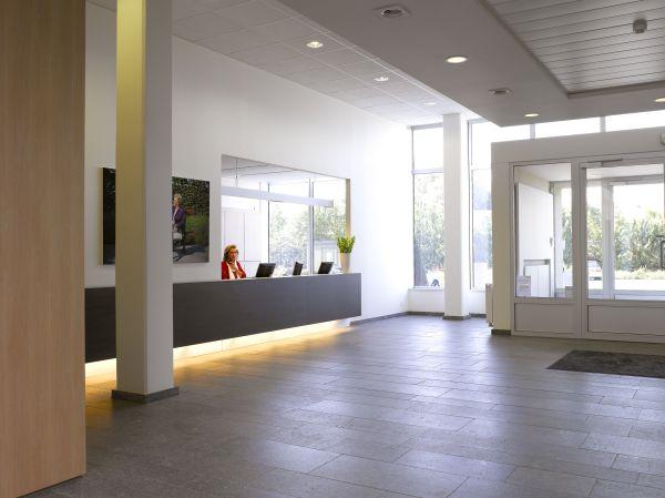 Balie hoofdzetel bouwbedrijf Aertssen, Stabroek