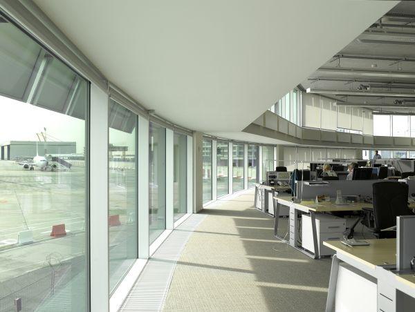 Kantoren satellietgebouw Brussels Airport Company