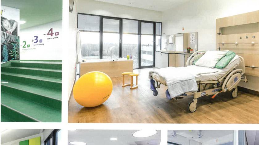 Ziekenhuis in de kijker. Het Koningin Mathilde Moeder- en Kind Centrum **