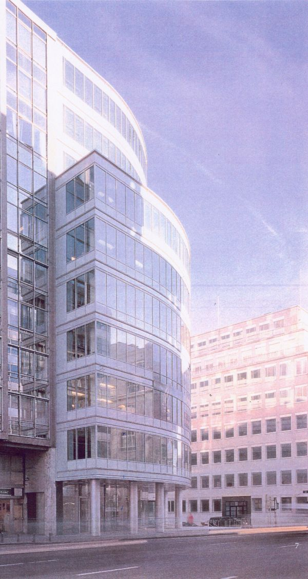 Nieuwbouw kantoorgebouw Chrysalis Brussel, SVR-ARCHITECTS