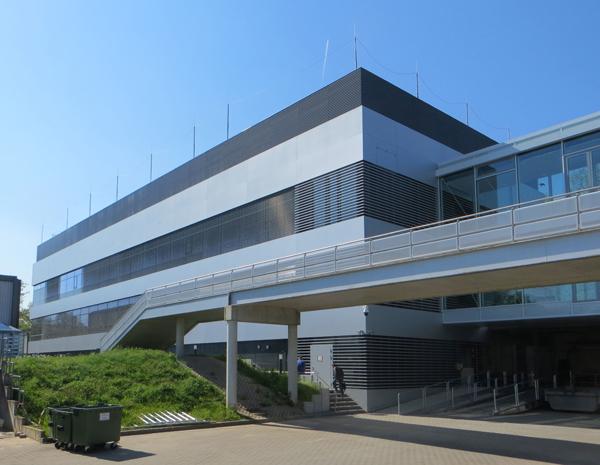 Vooraanzicht Schwalbach Innovation Center Procter & Gamble