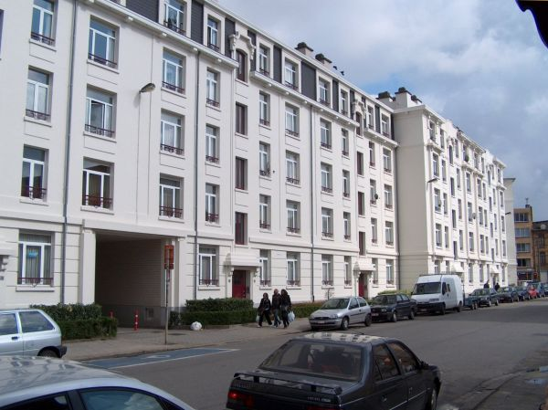Renovatie en nieuwbouw sociale huisvesting Hennig, project huisvesting SVR-ARCHITECTS