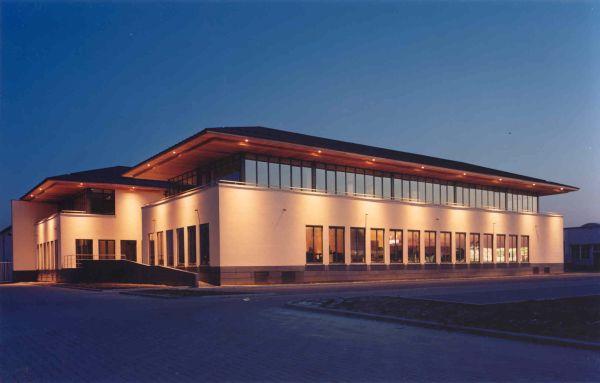 Renovatie kantoren Koffie Rombouts N.V., Aartselaar, kantoorgebouw SVR-ARCHITECTS