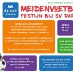 Meiden voetbal festijn bij Sv rap