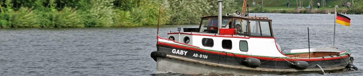 Bootsführerschein auf der Gaby, dem Ausbildungsschiff der SVRM