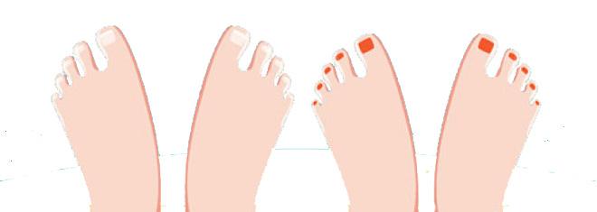toes copy