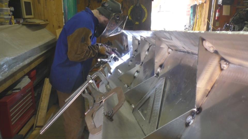 Diesel Jet Boat Build Part 4 Shape And Weld Aluminum