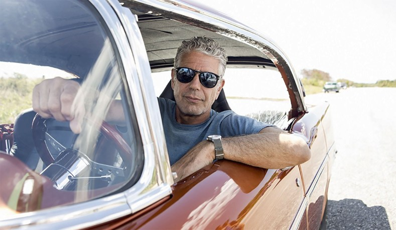 Anthony Bourdain was unrelentingly cool.