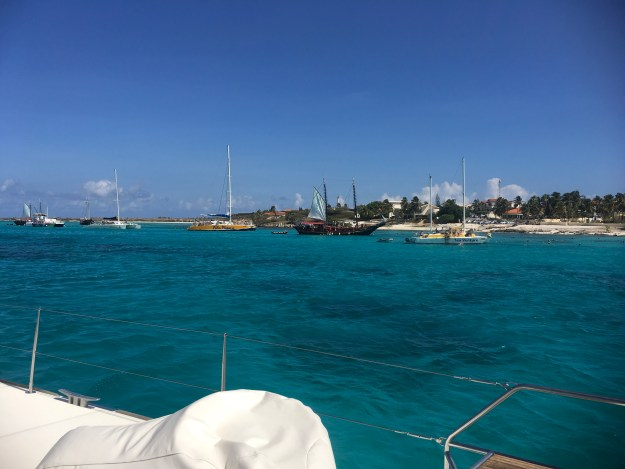 Charter boats in Aruba