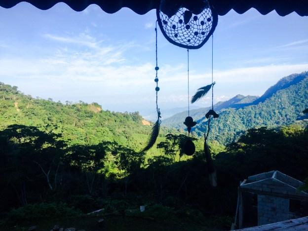 Minca view from Casas Viejas.