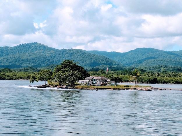 Nele Kantule Burial Site on a private island