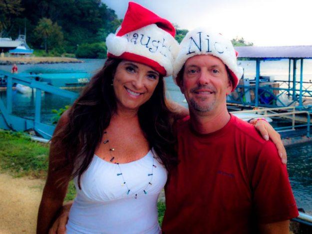 Matt and I on Christmas Eve